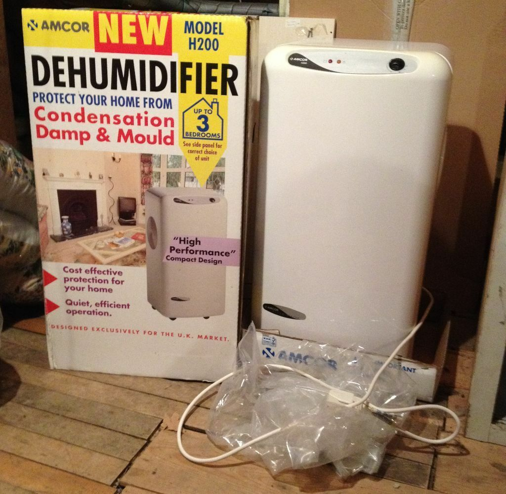 Amcor Dehumidifier Model H200 For 3 Bedroom House Almost New Condition Very Quiet In Newton