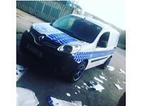 Renault kangoo van NOT Volkswagen caddy Mercedes Citan