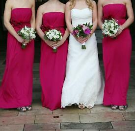 Coast Bridesmaid dresses x 3