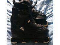 Airwalk Pro Aggressive inline skates.