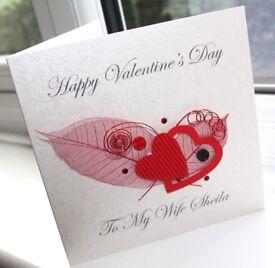 Personalised Handmade Greeting Cards, Guest Books & Stationery - Christenings, Weddings, Bespoke