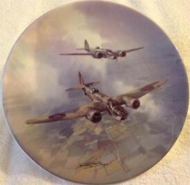Coalport Aviation Coming Home Plate 6760B (Reach For The Sky)