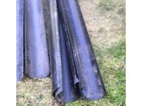 Quantity of upvc guttering and downpipe