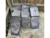 Slate tiles reclaimed