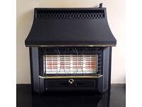 Valor Black Beauty Radiant 4.0 KW Gas Fire