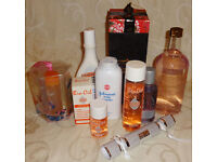 Beauty Bundle! 2 bottles Bio Oil, Palmers Cocoa body butter, Johnsons Talc, Sanctuary Spa gift set!