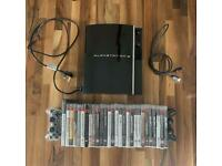 PlayStation 3 with 28 games, 2 controllers & HDMI