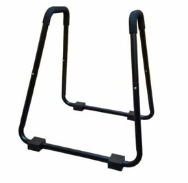 NEW ** Fxr Sports Black Dip Station Fitness Pull Up Gym Leg Exercise Tricep