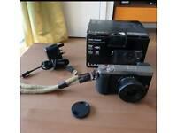 Panasonic DMC-GX80K Mirrorless 4K Camera, 12-32mm Lens and 64GB Memory Card
