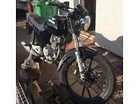 Lexmoto 125cc 61 plate