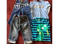 Boys 12-18 month bundle 12 items Next Blue Zoo Ben Sherman (see all pics)