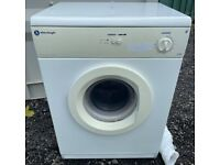 White Knight 6Kg Vented Dryer For Sale/ Free Local Delivery