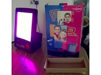 Dr. Kern Beauty Skin Lamp - acne treatment - working, boxed