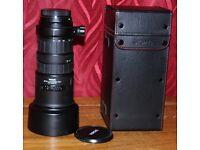 Sigma Apo 2.8 canon fit film lens.