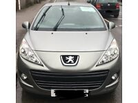 PEUGEOT 207CC 2010. VERY CLN VEHICLE HAS FAULTY ENGINE HENCE REASON FOR THE GREAT REDUCED PRICE..
