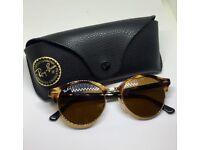Rayban Clubmaster tortoise shell sunglasses genuine