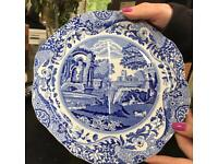 1938 Copeland Spode Italian sandwich plates