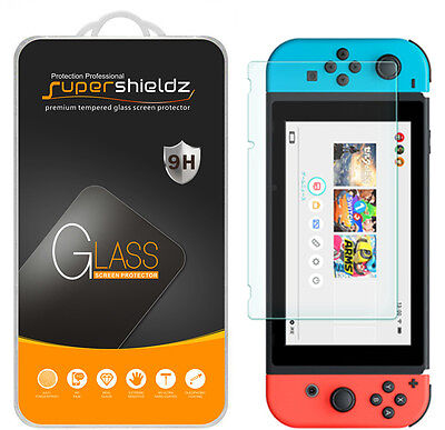 Supershieldz for Nintendo Switch Tempered Glass Screen Protector Saver