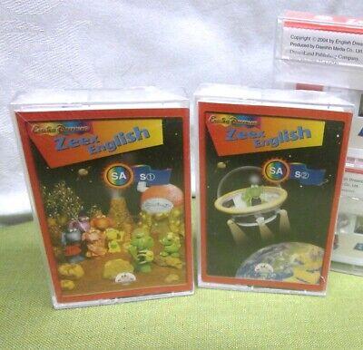 ZEEX ENGLISH SA cassette tapes English Dreamland 2004 educational Daeshin Media comprar usado  Enviando para Brazil