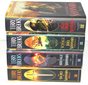 The Sword of Shannara Series by Terry Brooks