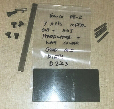 Emco Maximat Fb-2 Mill Parts Y Short Axis Gib Way Cover Hardware D22s