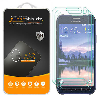 3X Supershieldz Samsung Galaxy S6 Working Tempered Glass Screen Protector Saver