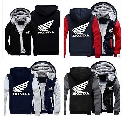 New Winter coat Honda baseball clothing cashmere thickening warm sweater jacket
