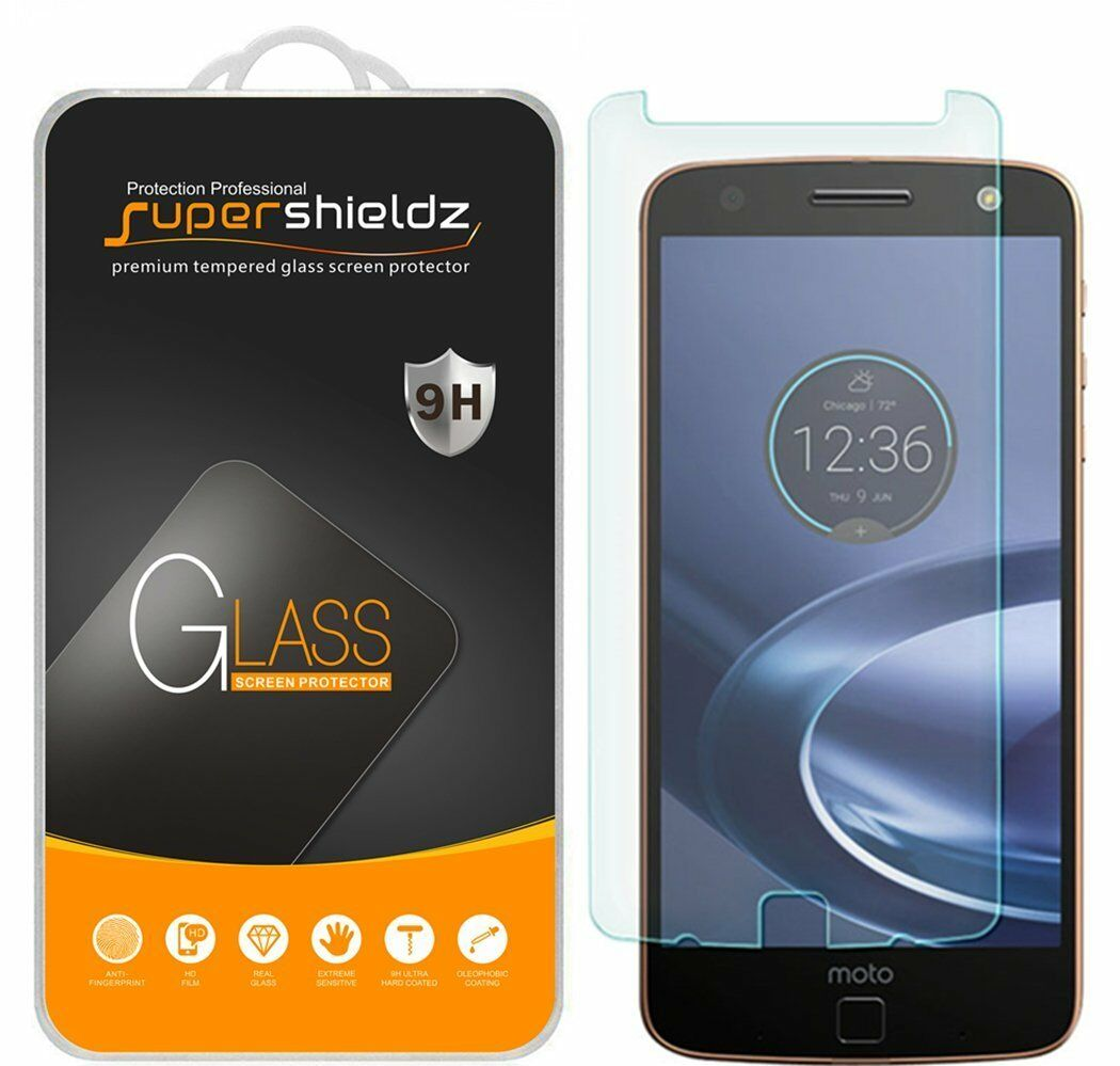 Купить Supershieldz - 3X Supershieldz Motorola Moto Z Force Droid Tempered Glass Screen Protector