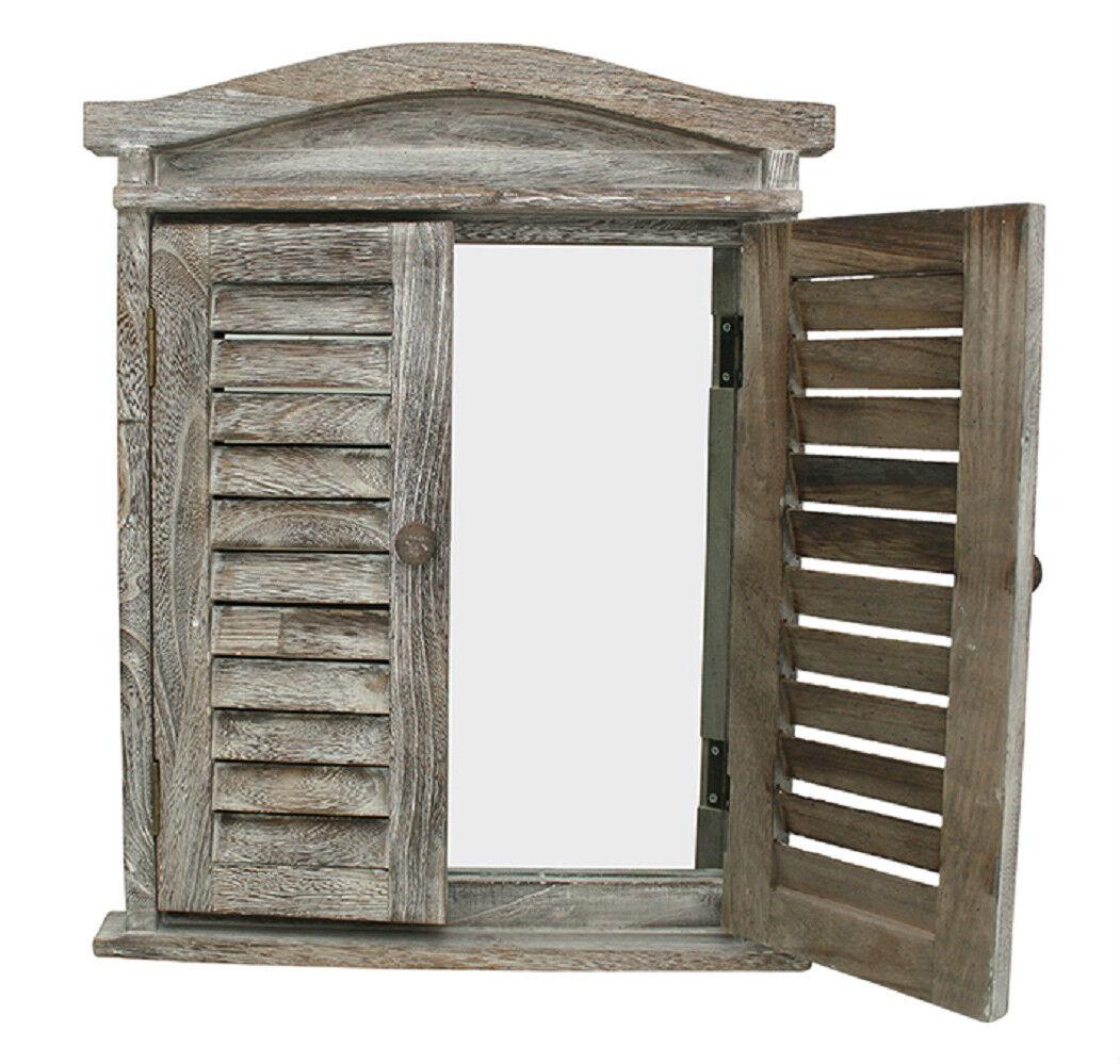 French provincial lorette shutter frame rustic vintage for French door frame