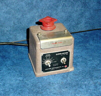 Lab-line Super Mixer 1290 Variable Speed One Touch Vortex Laboratory Mixer