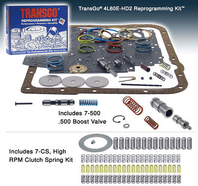 4L60E Chevy Transmission Transgo Reprogramming Valve Body Shift Kit 4L60E-HD2