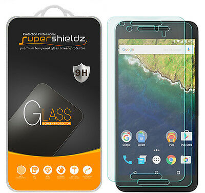 2X Supershieldz Tempered Magnifying glass Screen Protector Saver Shield for Huawei Nexus 6P