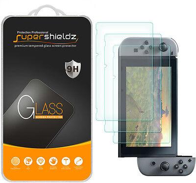 3X Supershieldz Nintendo Switch Tempered Glass Screen Protector Saver