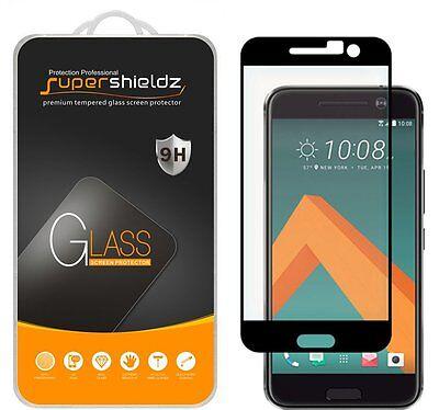 Supershieldz Tempered Mirror Screen Protector Saver Shield For HTC 10 (Black)