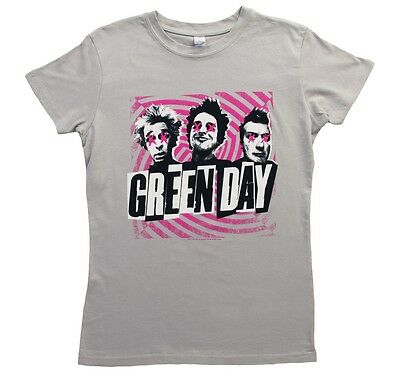 New: GREEN DAY - Swirl Pop Concert T-Shirt Fitted Juniors (Size: 2XL / XXL)