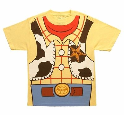 Toy Story Woody I Am Costume Disney Officially licensed Adult T Shirt (Woody Adult Costume)
