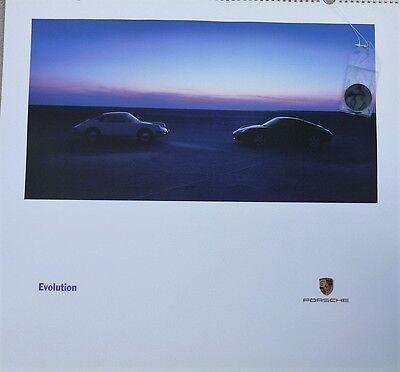 """Porsche Christophorus Calendar, 1998 """"Evolution"""""""