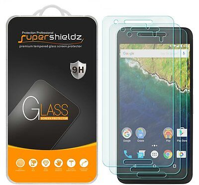 3X Supershieldz Huawei (Google) Nexus 6P Tempered Plate glass Screen Protector Saver