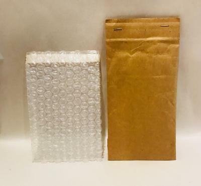16 Jiffy Paddedcushioned Mailers 000 - 4x8 Open End W4x6 Bubble Pouches New