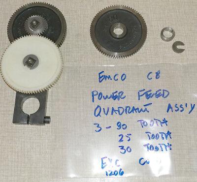 Emco Compact 8 Lathe Power Feed Quadrant 1206