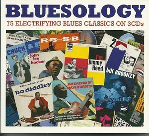 BLUESOLOGY - 3 CD BOX SET - MUDDY WATERS, BUDDY GUY & MORE