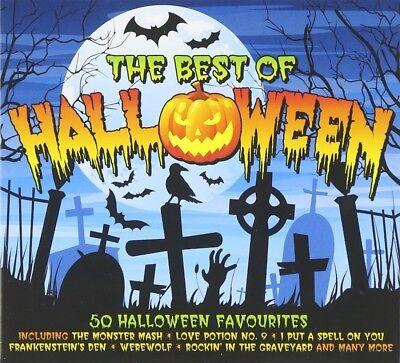 BEST OF HALLOWEEN 2 CD NEW+  - Best Rock Halloween Music