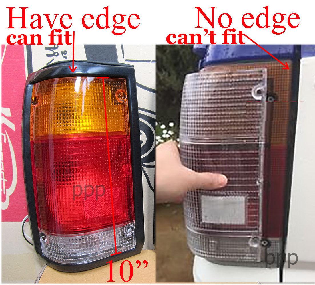 1986 mazda b2000 vacuum hose diagram bumper corner clear red tail light lens set mazda b2000 ...