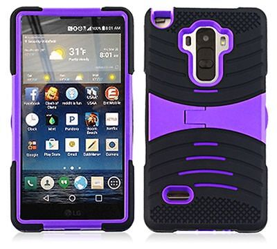 uBLACK/PURPLE Phone Case Cover For LG G Stylo / Stylus LS770 / H631