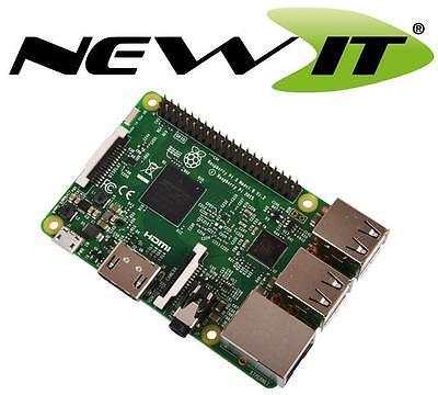 RASPBERRY Pi 3 Model B Wireless Lan 1.2GHz Quad Core 64Bit 1GB RAM (2016 Model)