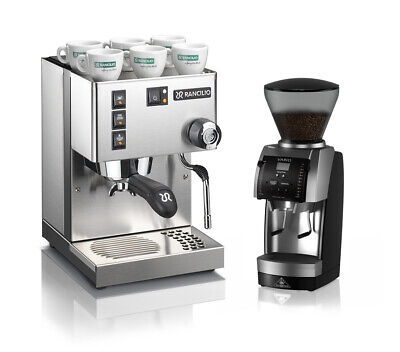 Rancilio Silvia V6 Coffee Machine Mahlkonig Vario Home Grinder Espresso Combo