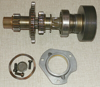 Emco Maximat Super 11 Lathe Headstock Parts Rear Axle Assembly A28s