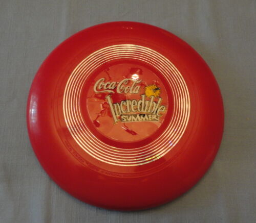 Coca Cola Incredible Summer Light Up Frisbie -