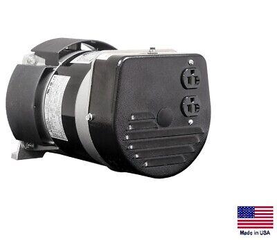 Belt Driven Generator Bi-directional - 2400 Watts - 120v - 1 Phase - Brushless