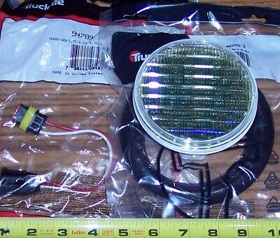 "4"" ROUND CLEAR LED BACK-UP LIGHT KIT 54 DIODE TRUCK-LITE 44205C TRUCK TRAILER"